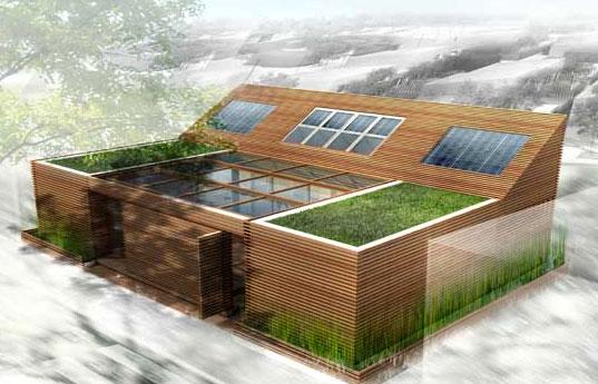 Пассивное использование солнечной энергии